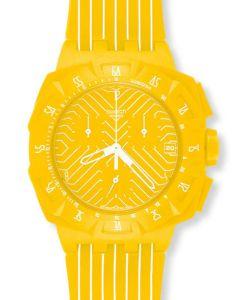 Swatch New Chrono Yellow Run SUIJ400