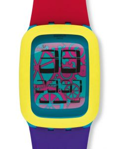 Swatch Square Yellow Tang SURS101