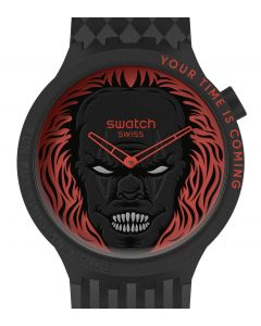 Swatch Big Bold Halloween Capsule Your Time Is Coming SB01B128