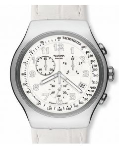 Swatch Irony The Chrono Your Turn White YOS439