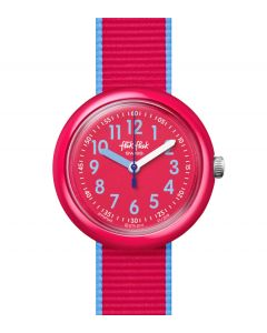 Flik Flak Kinderuhr Color Blast Red FPNP045