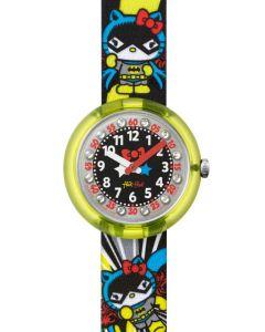 Swatch Flik Flak DC HELLO KITTY BATGIRL FLNP016