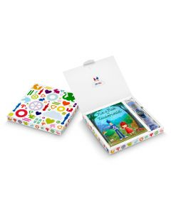 Flik Flak Sonderverpackung mit Buch Flik & Flak in the Magic WOOD FGP002-DE
