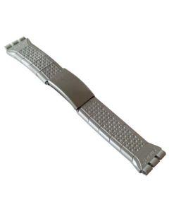 Original Armband der Swatch Irony Chrono STRAIGHT EDGE (Metall Medium) AYCS1006AM