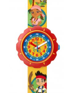 Swatch Flik Flak JAKE AND THE NEVER LAND PIRATES FLSP006