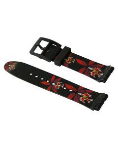 Swatch Armband FLEUR NOIR ASUDB114