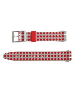 Swatch Armband RED FLUSH AGE240