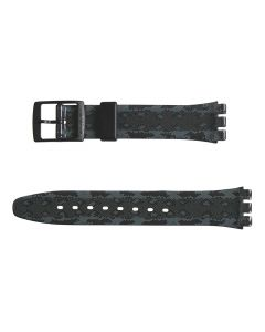 Swatch Armband Snaky Anthracite AGB257