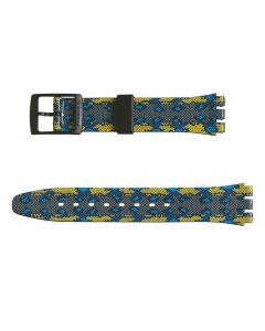 Swatch Armband Snaky Blue AGB254