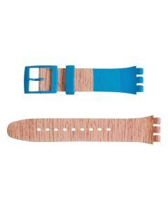 Swatch Armband Blue Pine ASUOK706