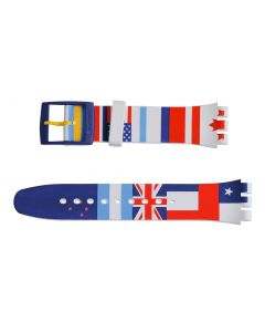 Swatch Armband Flagtime ASUOW111