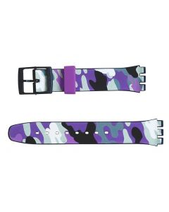 Swatch Armband Hiding Purple AGB264