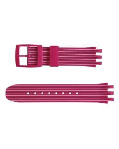 Swatch Armband Pink Run ASUIP400