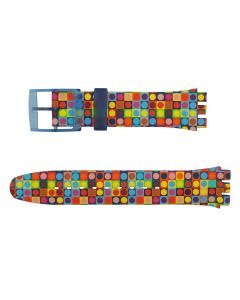 Swatch Armband Rounds And Squares ASUON122