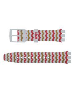 Swatch Armband Swatch Woof ASUOZ266