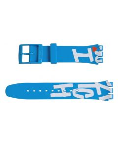 Swatch Armband White In Blue ASUOS103