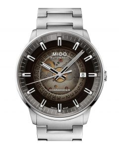 Mido Commander Gradient Silver M021.407.11.411.00