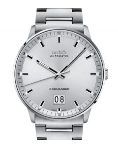 Mido Commander Big Date Silver M021.626.11.031.00
