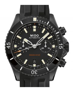 Mido Ocean Star Chronograph Black Rubber M026.627.37.051.00