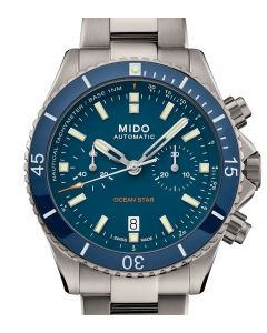 Mido Ocean Star Chronograph Blue Steel M026.627.37.051.00