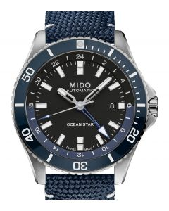 Mido Ocean Star GMT Blue M026.629.17.051.00