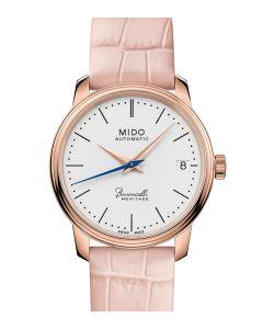 Mido Baroncelli Heritage Lady Rosé M027.207.36.010.00