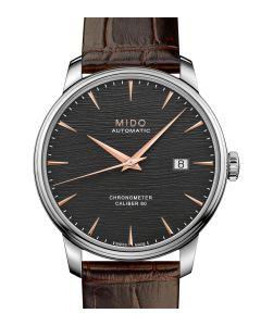 Mido Baroncelli Chronometer Silizium Black M027.408.16.061.00