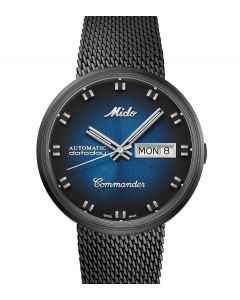 Mido Commander Shade Blue M8429.3.25.11