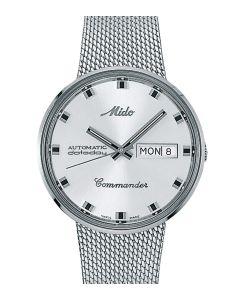 Mido Commander Silver M8429.4.21.11