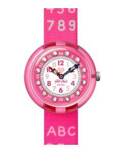 Flik Flak Kinderuhr Pink Ab34 FBNP133