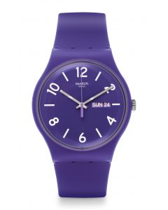 Swatch New Gent Backup Purple SUOV703