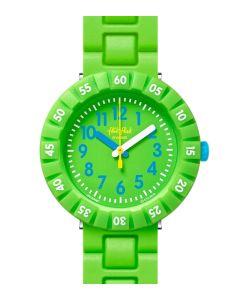 Flik Flak Kinderuhr Solo Green FCSP097