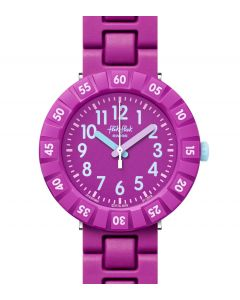 Flik Flak Kinderuhr Solo Purple FCSP089
