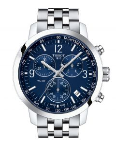 Tissot PRC 200 Chronograph Blue Steinless Steel T114.417.11.047.00