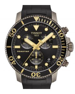 Tissot Seastar 1000 Chrono Black Rubber T120.417.37.051.01