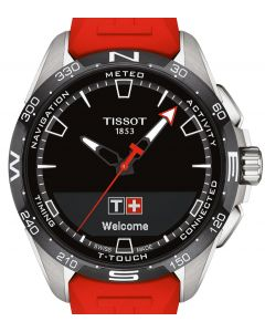 Tissot T-Touch Connect Solar Rubber Red T121.420.47.051.01