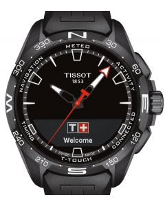 Tissot T-Touch Connect Solar Black Rubber Black T121.420.47.051.03