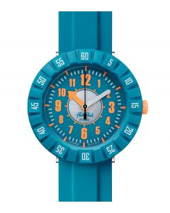 Flik Flak Kinderuhr Teal My Mind ZFCSP099