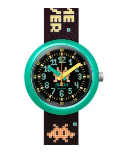 Flik Flak Kinderuhr Time Invader ZFPNP069
