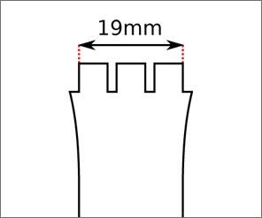 Swatch 19 mm Ansatz