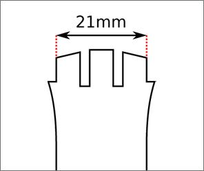 Swatch 21 mm Ansatz