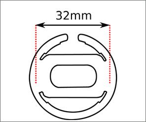 Midi Pop Swatch strap width