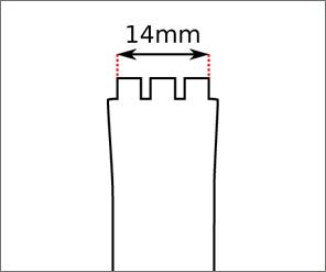 Swatch Skin Regular strap width