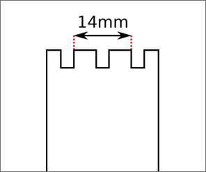 Swatch Square strap width