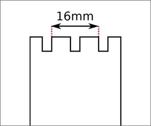 Swatch Chrono / Turnover strap width