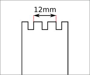 Swatch Originals Square strap width