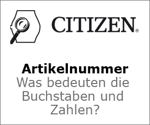 Citizen Artikelnummer