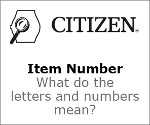 Citizen Item Number