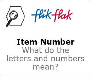 Flik Flak Item Number