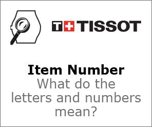 Tissot Item Number